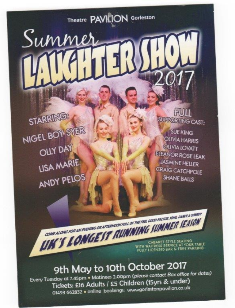 Summer Laughter Show card