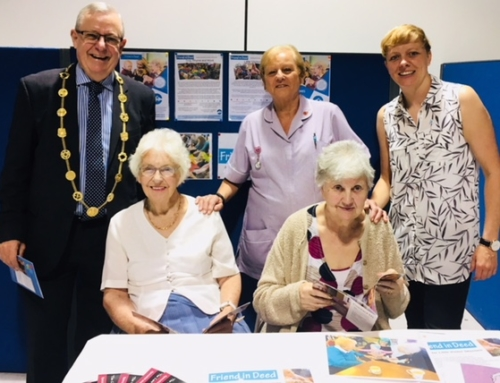 We attended Dementia Action Week 21st May 2018